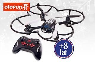 Quadrocopter 2,4 GHz zdalnie sterowany Elefun Toys z Biedronki