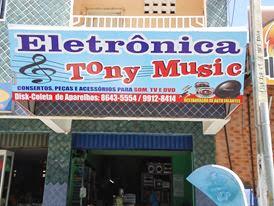ELETRÔNICA TONY MUSIC