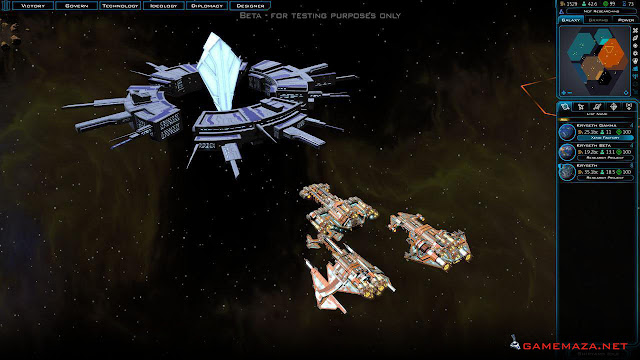 Galactic Civilizations III Gameplay Screenshot 1'