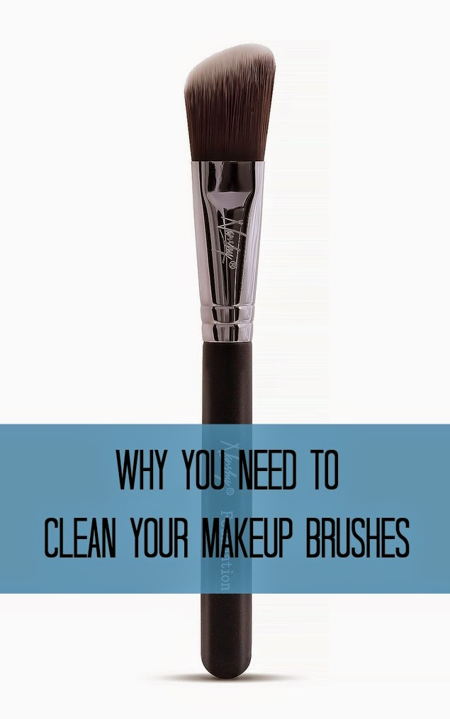 Keep reading for the gross facts about what can happen if you don't clean your brushes often enough.