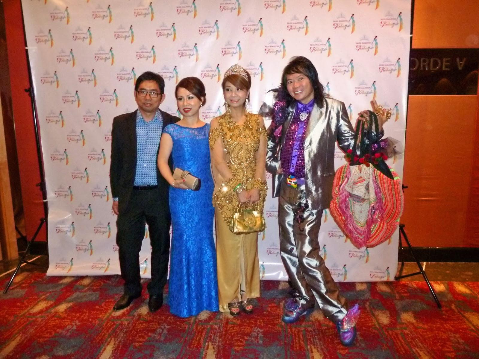 CHRISTOPHER LIM, JENNIFER ONG WHO WAS AWARDED MISS MALAYSIA KEBAYA ...