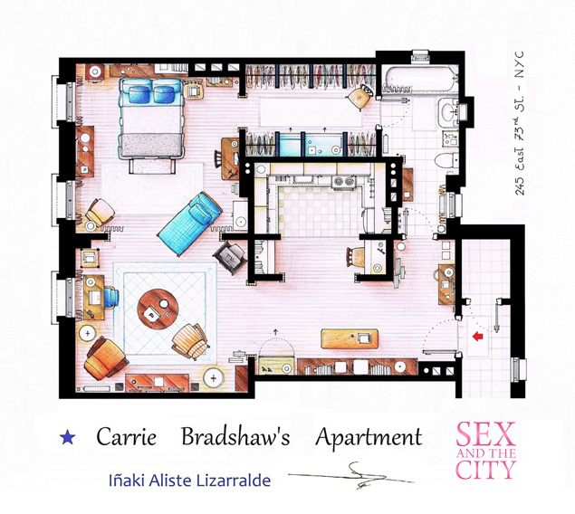 Home Improvement Design: Tastefully Offensive: Floor Plans Of TV's Best Sitcom