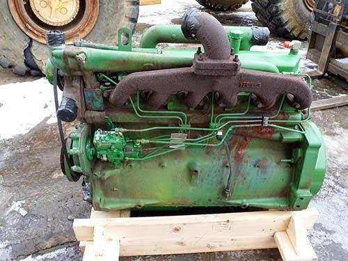 used John Deere 4420 diesel engine