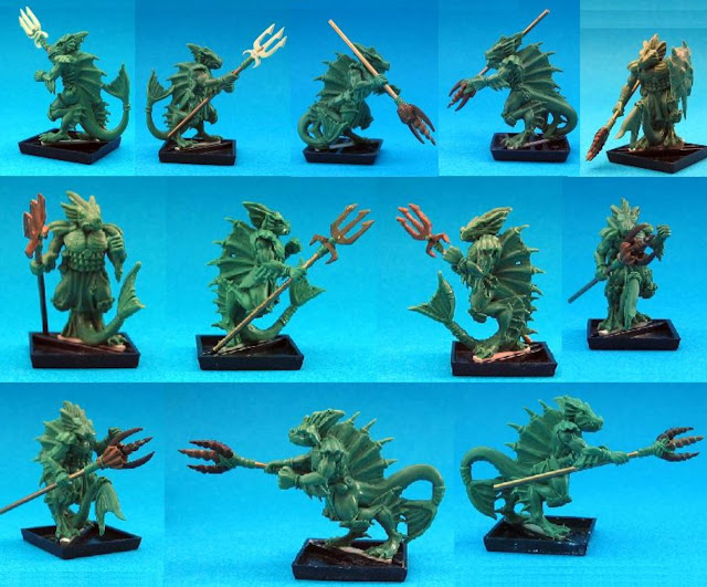 Trident bearing sea WFB miniatures