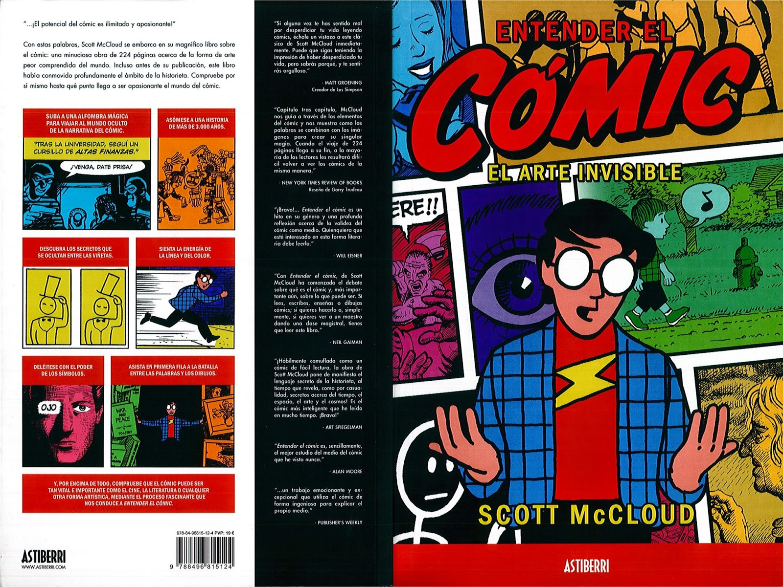 understanding comics About the book in 1994 scott mccloud tore down the wall between high and low culture with understanding comics, a comic book about comics.