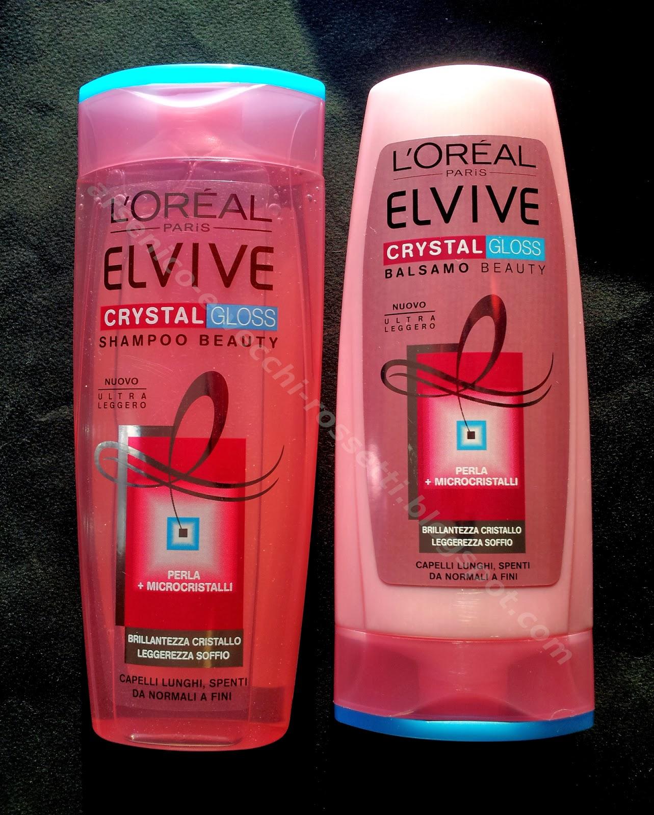L'Oréal Paris Elvive Crystal Gloss Balsamo Shampoo