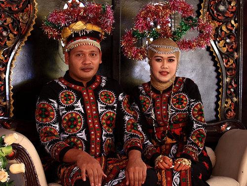 Busana Adat Pengantin Aceh Budaya   Kamistad Celebrity Pictures Portal