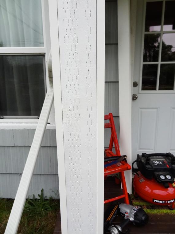 Curb Appeal // DIY Porch Columns | Revamp Homegoods
