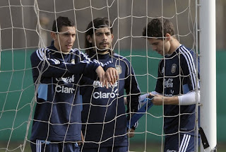 Argentina se concentra para su próximo partido