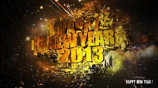 kartu selamat tahun baru 2013