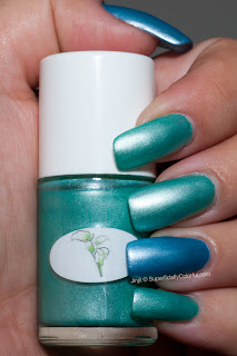 The Nail Junkie Pastels Green Goddess