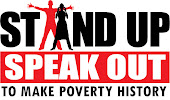 MAKE POVERTY HISTORY (luta contra a pobreza, fights poverty)