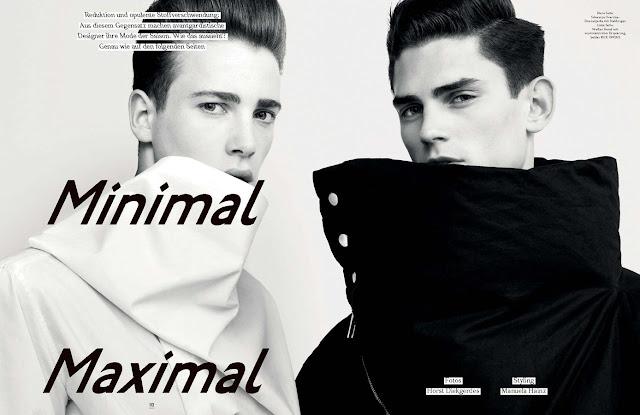 Editorial: GQ Style, Minimal Maximal