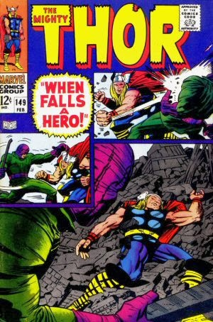 Thor #149 comic image