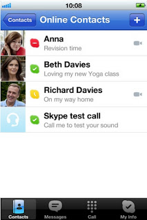 Skype cho Iphone - phan mem cho iphone