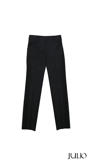 Julio pink Cim*ab moda mexicana pantalón negro de vestir