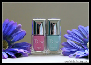 Dior Vernis Glowing Gardens Spring 2016 Lilac Bleuette