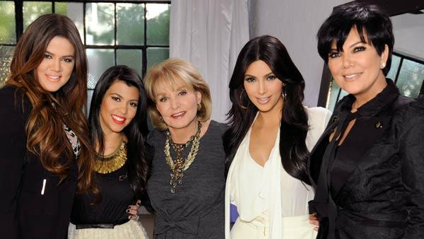 Barbara Walters and Kardashians