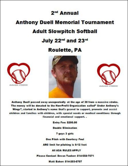 7-22 & 7-23 Adult Slowpitch Softball