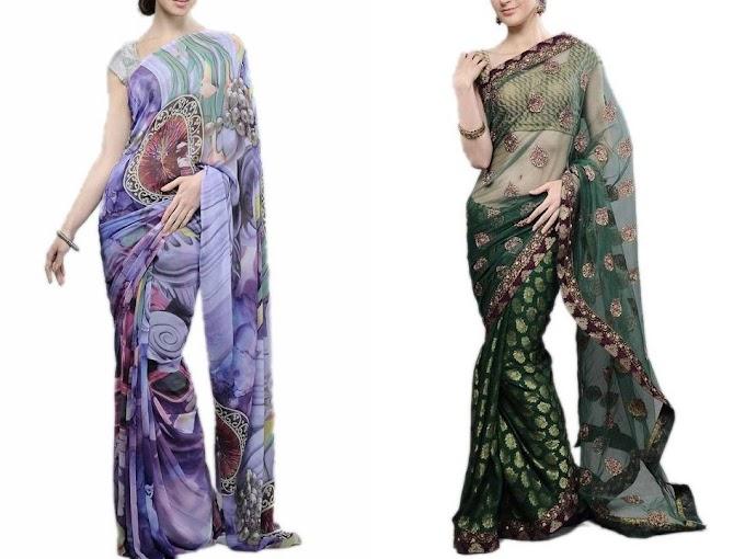 Casual Digital Printed Indian-Saree Collection 2012-2013