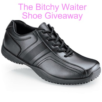 the bitchy waiter: Free Shoes From Shoes For Crews