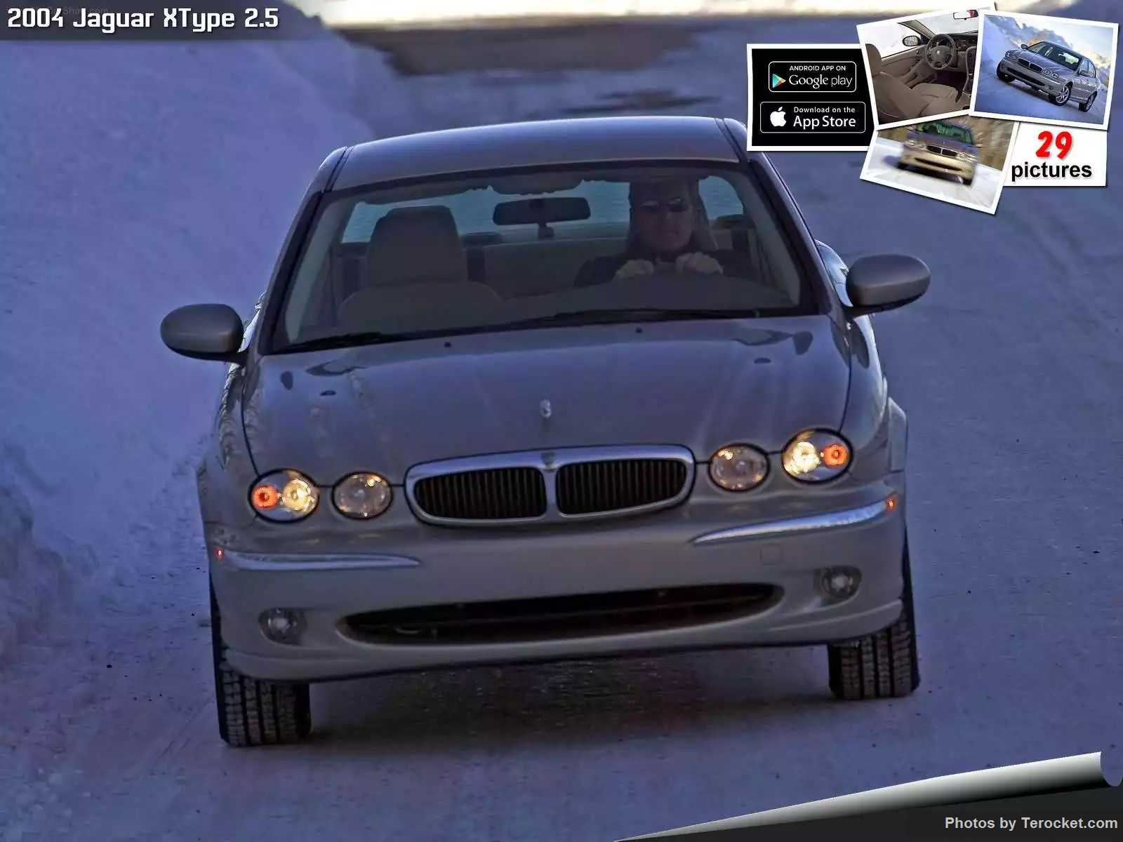 Hình ảnh xe ô tô Jaguar XType 2.5 2004 & nội ngoại thất