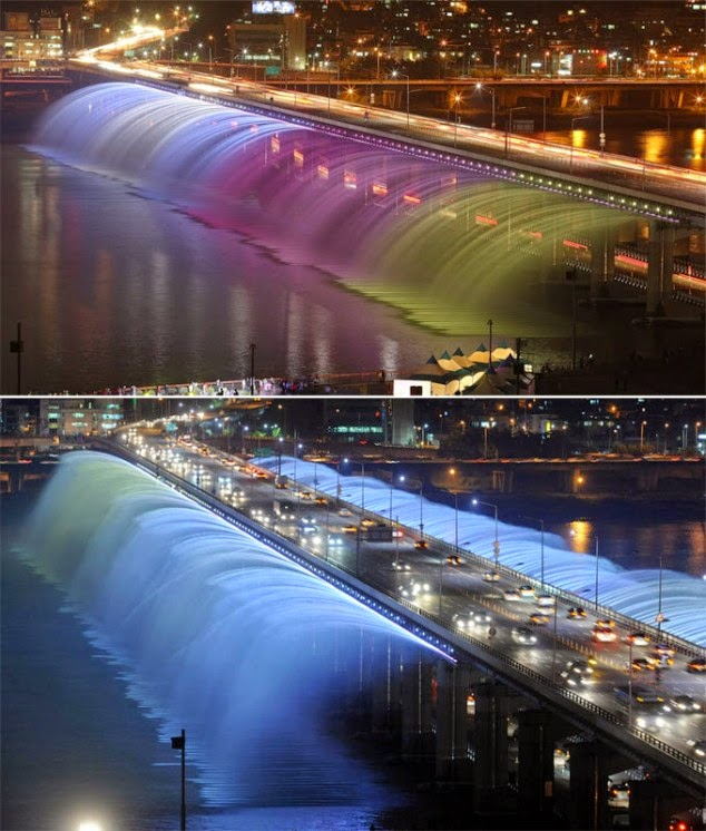 Banpo Bridge, Seoul, Korea