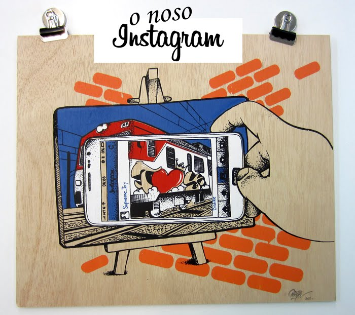 O instagram da aula de serigrafía
