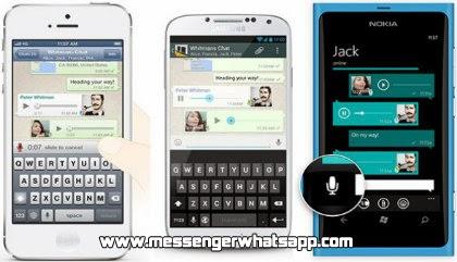 ¿Como enviar mensajes de voz en WhatsApp?