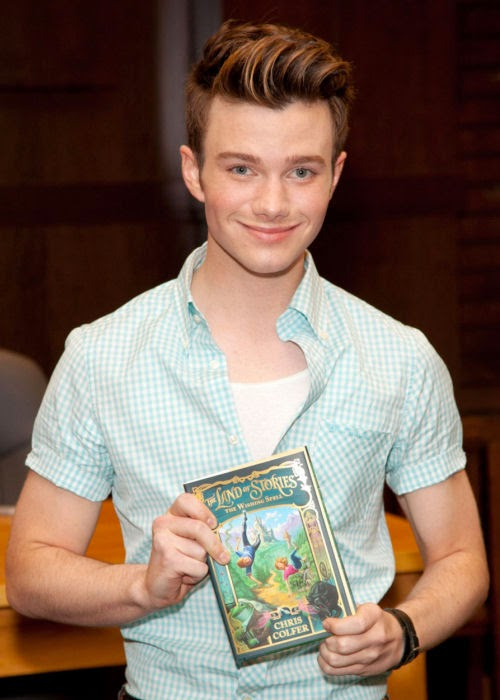 Chris Colfer Book Tour