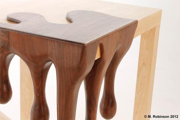 Fant sticas mesas tallada a mano quiero m s dise o - Mesas de madera hechas a mano ...