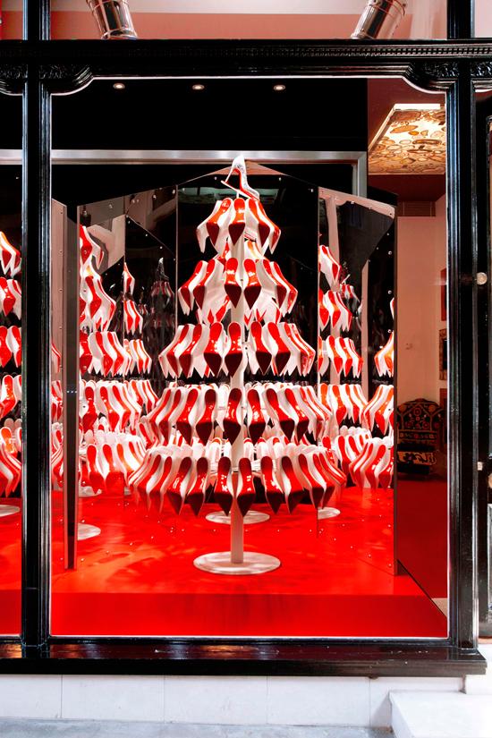 Árbol de Navidad Louboutin