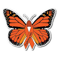 Multiple sclerosis ribbon