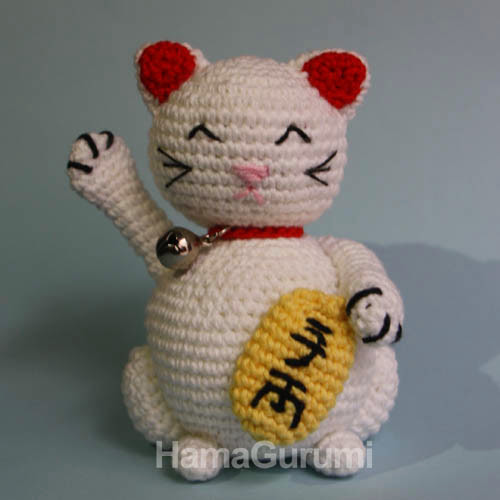 Amigurumi Neko : gato amigurumi Aprender manualidades es facilisimo.com