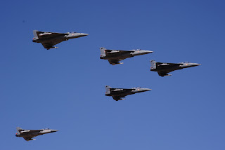 Indian Light Combat Aircraft, LCA Tejas. Formation Flights