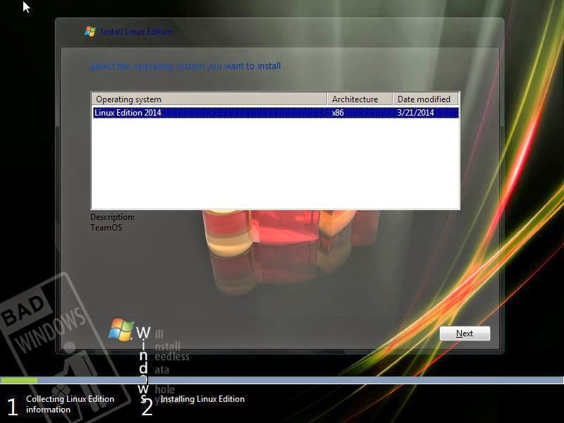 Windows 7 Linux Edition