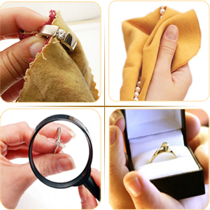 engagement rings taking care of your