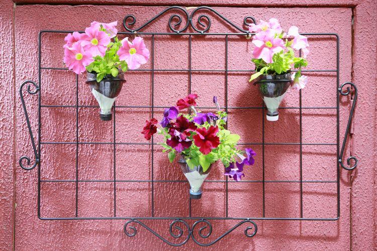 jardim vertical reciclado:Segue o link do passo a passo confiram e não deixem de nos enviar a