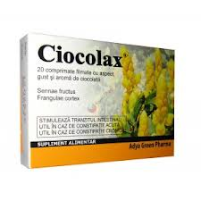 Ciocolax - laxativ natural eficient
