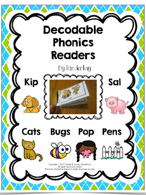 https://www.teacherspayteachers.com/Product/Decodable-Phonics-Readers-For-Little-Kids-979815