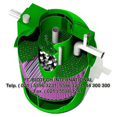 septic tank fibreglass biotech, septic tank, sepiteng, bioasahi, biofil