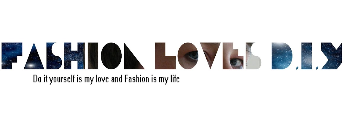 Fashion loves D.I.Y.