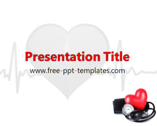 blood pressure ppt template free powerpoint templates