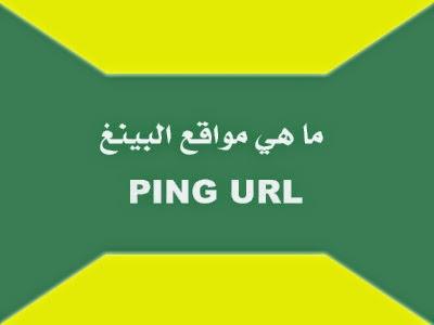 ما هي مواقع البينغ PING URL