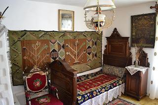 """Bedroom of Memorial House """"Alexander Vlahuţă"""""""