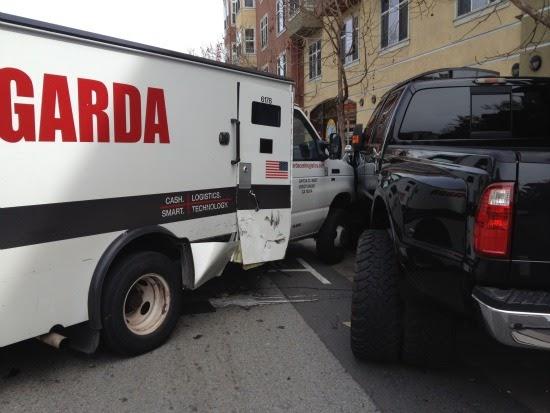 Private Officer Breaking News: Garda armored truck crash injures ...