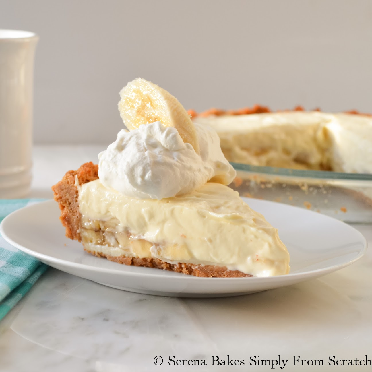Banana Pudding Cheesecake #Sunday Supper