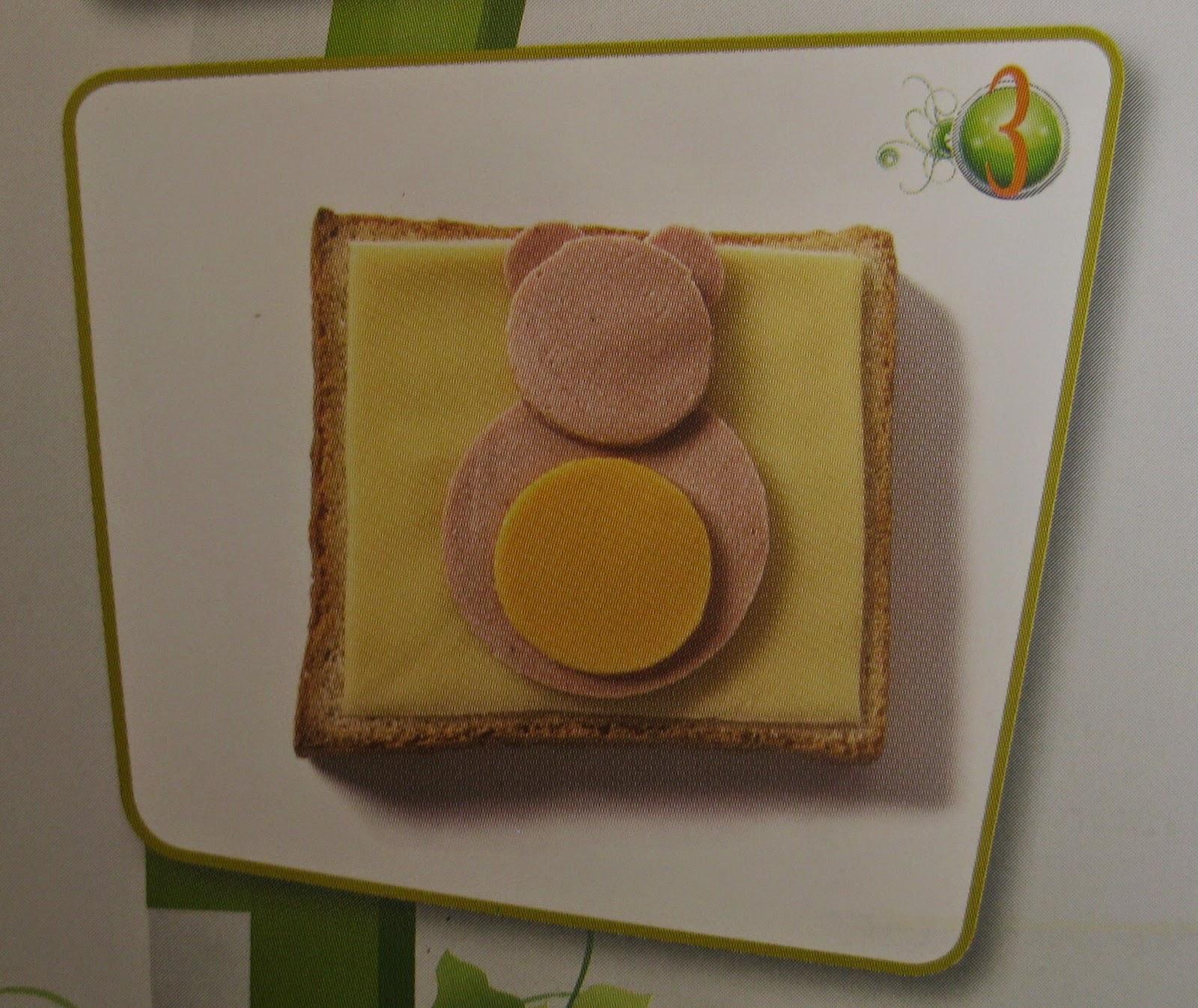 Sandwich Oso, Comida con Arte