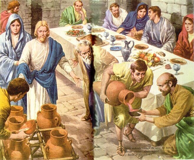 Había una Boda en Caná de Galilea