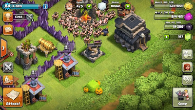event hallowen di coc 2015